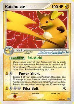Carta pokemon foto