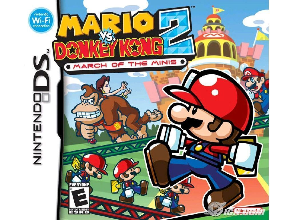 Mario vs Donkey Kong March of the Minis